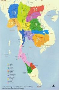 แผนที่รัฐโบราณก่อนสมัยอยุธยา